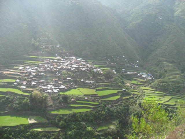 The village of Bugnay in Upper Tinglayan.