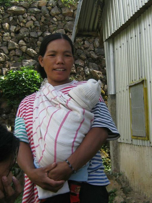 One of the mothers from Buscalan (neighbouring villages) that delivered at our Bugnay site.