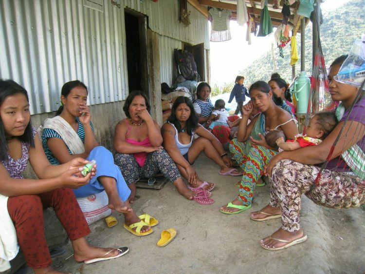Some of the mothers from the village of Buscalan share about their experiences at AGGMC.