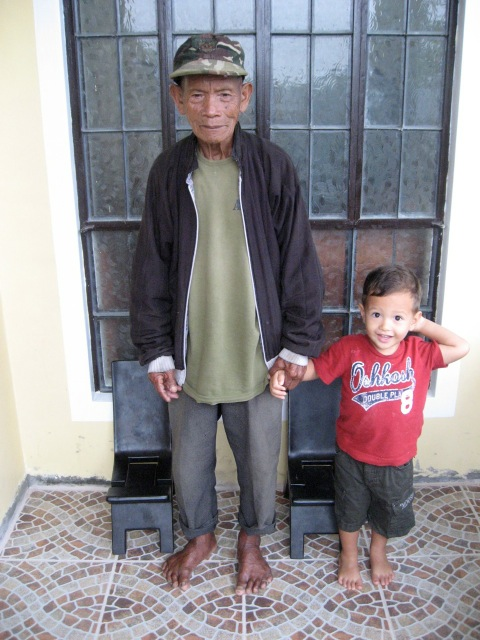Apu with Emmaus a few years ago.